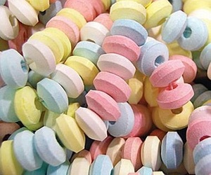 candy, candy necklace, and food image