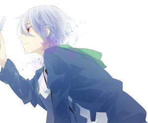 anime, mirai nikki, and boy image