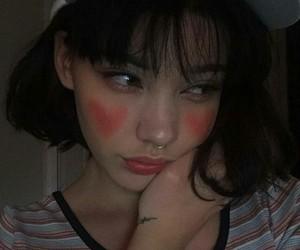 girl, korean, and kstyle image