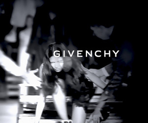 Givenchy, Adriana Lima, and black and white image