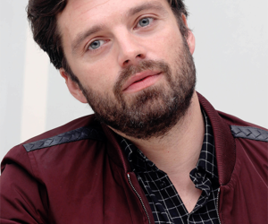 handsome, sebastian stan, and bucky barnes image