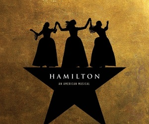 hamilton, broadway, and musical image