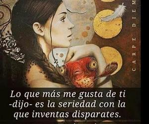 vida, frases español, and locura image