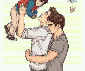 love, gay, and family image