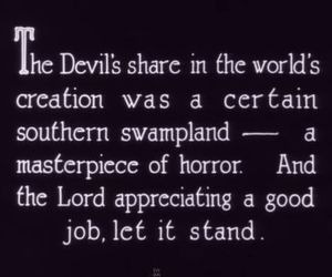 Devil, horror, and quotes image