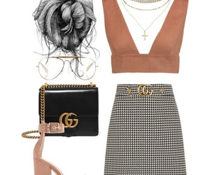 dinner, fashion, and Polyvore image