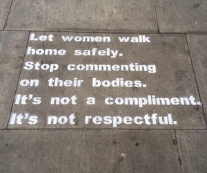 quotes, respect, and feminism image