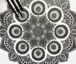 mandala, mandala art, and art image