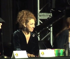 river song, doctor who, and alex kingston image