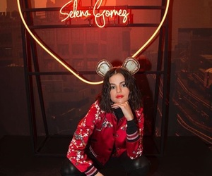 selena gomez, coach, and red image