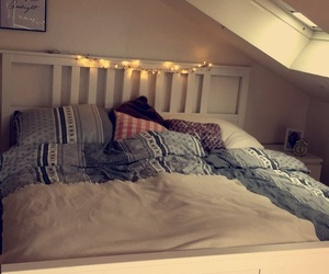 bed, cozy, and favorite image