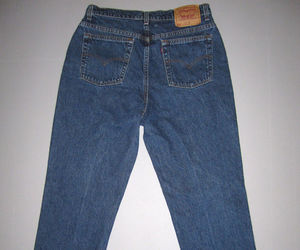 jeans, women's vintage clothing, and ebay image