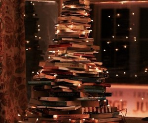 book, christmas, and light image