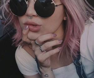 sunglasses and tattoo image