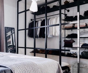 black and white, decor, and home image