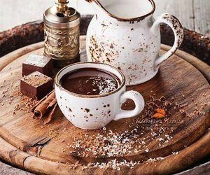 chocolate, coffee, and sweet image