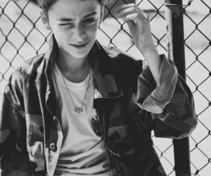 noah schnapp, stranger things, and will byers image
