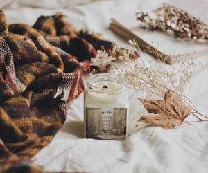 autumn, fall, and candles image