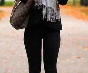 autumn, clothes, and moda image