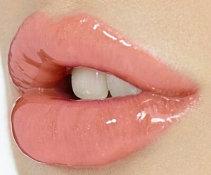lips, pink, and pale image