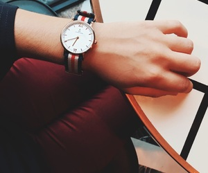 fashion, outfit, and montre image