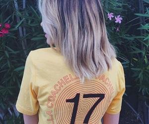 beach, blonde, and coachella image