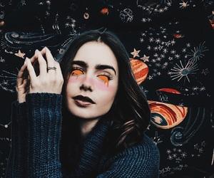 art, collins, and dark image