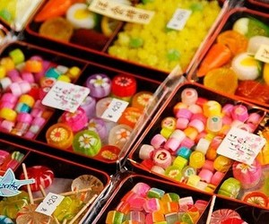 candy, sweet, and japan image