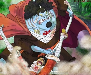 one piece, fishman island, and jinbe image