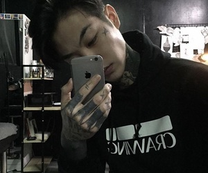 tattoo, ulzzang, and boy image