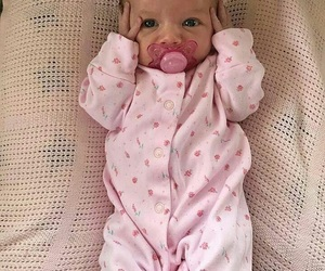 baby, adorable, and baby girl image