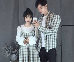 asian, couples, and matching icons image