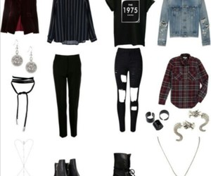clothes, fashion, and k-pop image