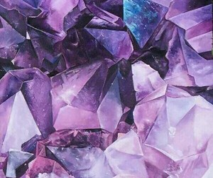 aesthetic, quotes, and crystals image