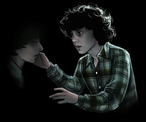 eleven, finn wolfhard, and mike wheeler image