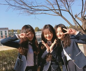 college, maknae, and sujeong image