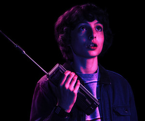stranger things, mike wheeler, and finn wolfhard image