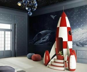 bedroom, home, and kids room image