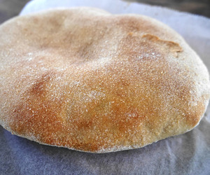 bread, pita, and sourdough image