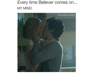 true, riverdale, and bughead image