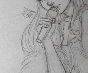 draw, singer, and song image
