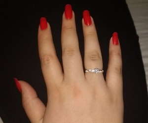 engagement, marriage, and red image