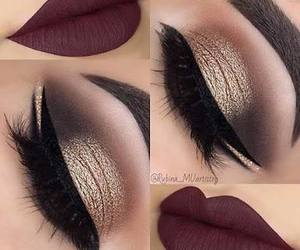 beauty, date, and makeup image