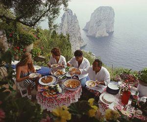 vintage, food, and sea image
