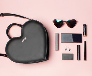 black, fashion, and purse image