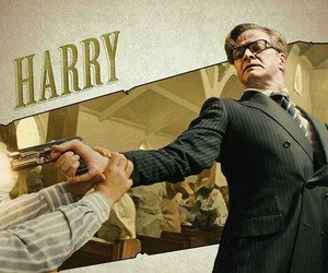 Colin Firth, harry, and kingsman image