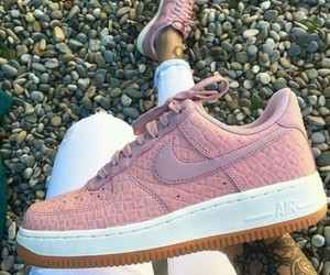 pink, air force, and nike image
