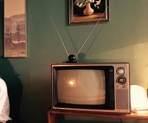 tv and vintage image