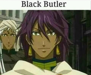 anime, black, and butler image