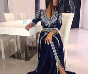 fashion, girl, and arab image